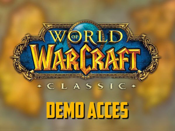 Classic WoW - Demo is now playable