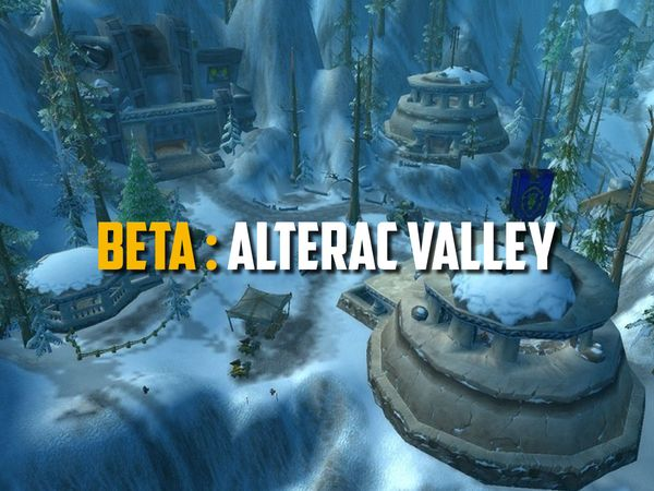 WoW Classic Beta - alterac valley