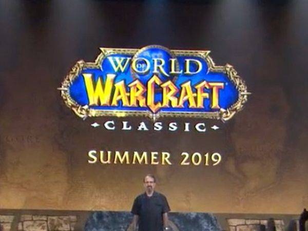 Classic WoW - Release date for summer 2019