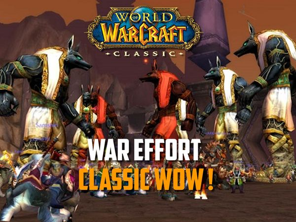 The Ahn'Qiraj War Effort - WoW Classic