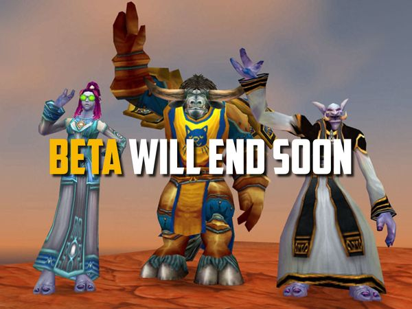 Closed beta test will will end on July 12.
