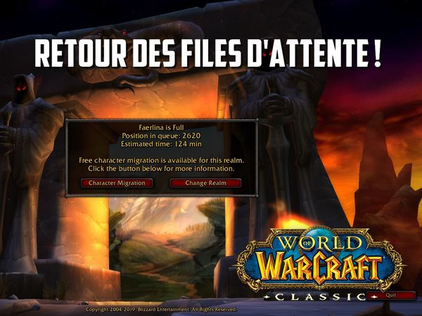file d'attente wow classic