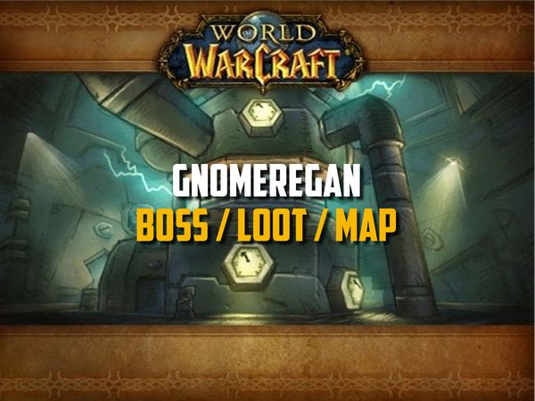 Guide de Gnomeregan sur WoW Classic (Boss, Loot, Map)