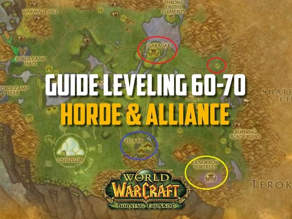 Guide Leveling 60-70 Horde & Alliance ! TBC