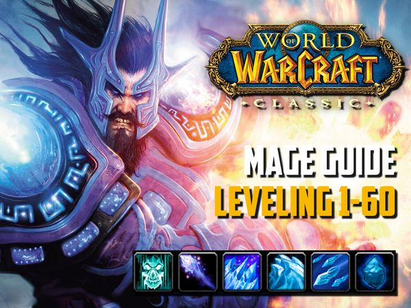 Guide mage leveling 1-60