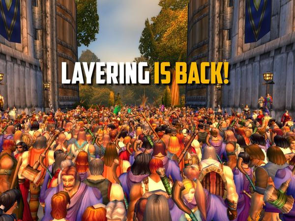 Layering back to reduce queues?!