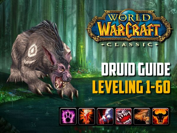 Druid guide leveling 1-60