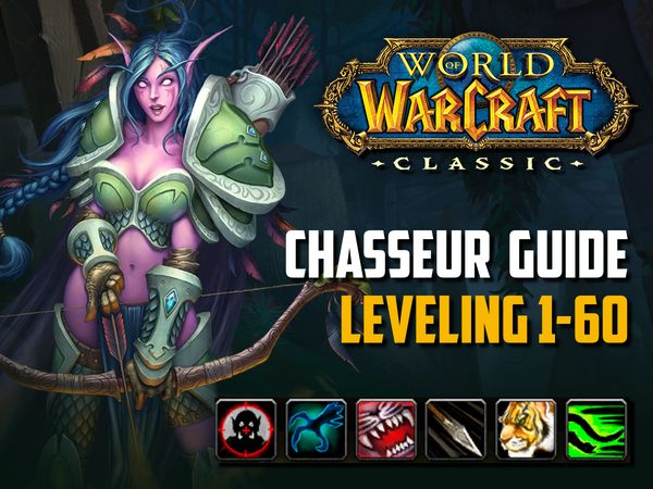 Guide Chasseur leveling 1-60