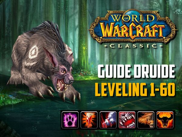 Guide Druide leveling 1-60