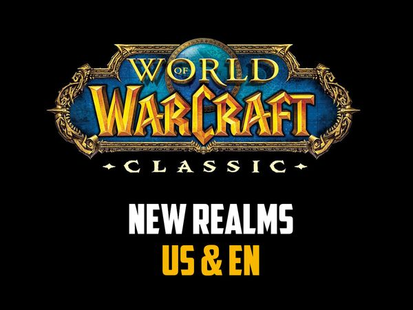 New WoW Classic Realms US & EN
