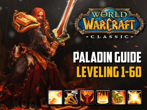 Paladin guide leveling 1-60