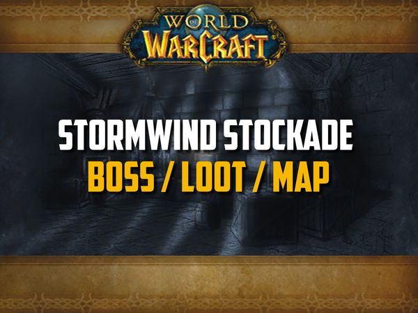 Classic WoW - Stockade Guide (Boss, Loot, Map)