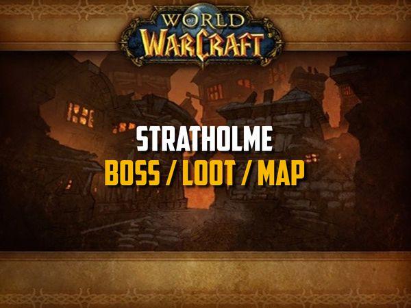 Guide de Stratholme sur WoW Classic (Boss, Loot, Map)