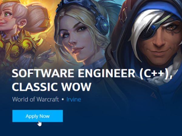 WoW Classic - Blizzard is recruting