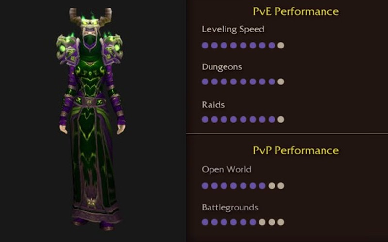Classic WoW - Class Picking Guide - Best class for PVP / PVE