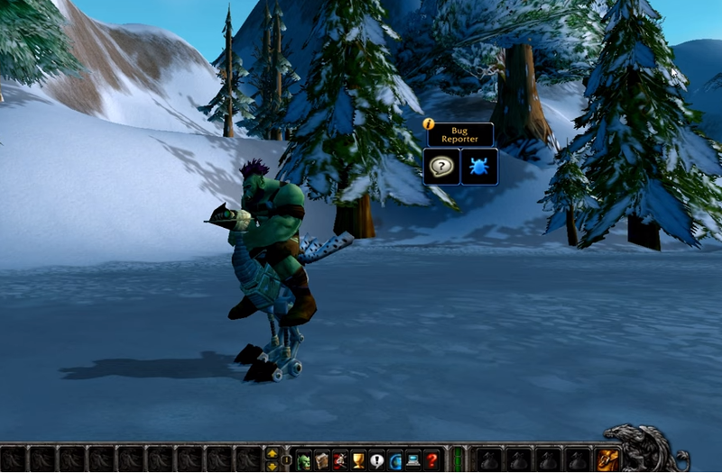 wow classic beta screenshot