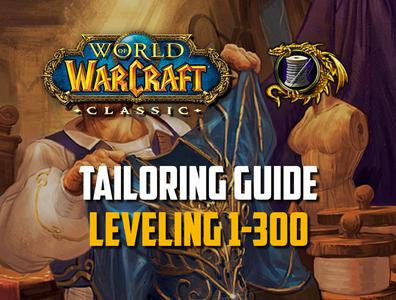 leveling tailoring guide 1-300