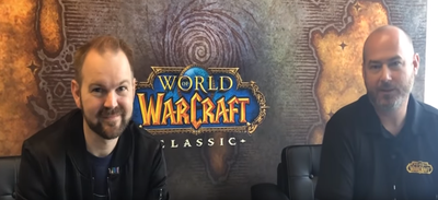blizzard interview wow classic