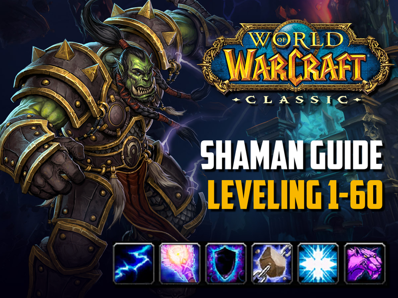 shaman guile leveling wow classic