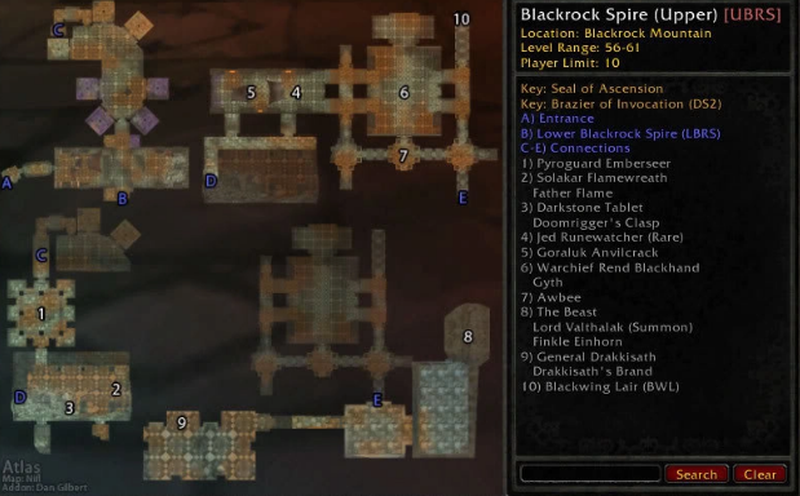 Upper Blackrock Spire boss location
