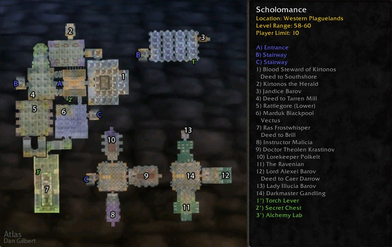 Scholomance boss location