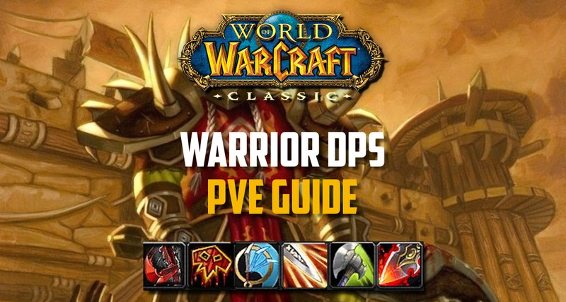 Wow Classic Warrior Pve Guide Specs Macros Bis Gear