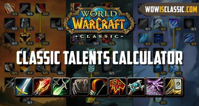 wow classic talent calculateur