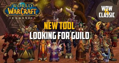looking for guild wow classic