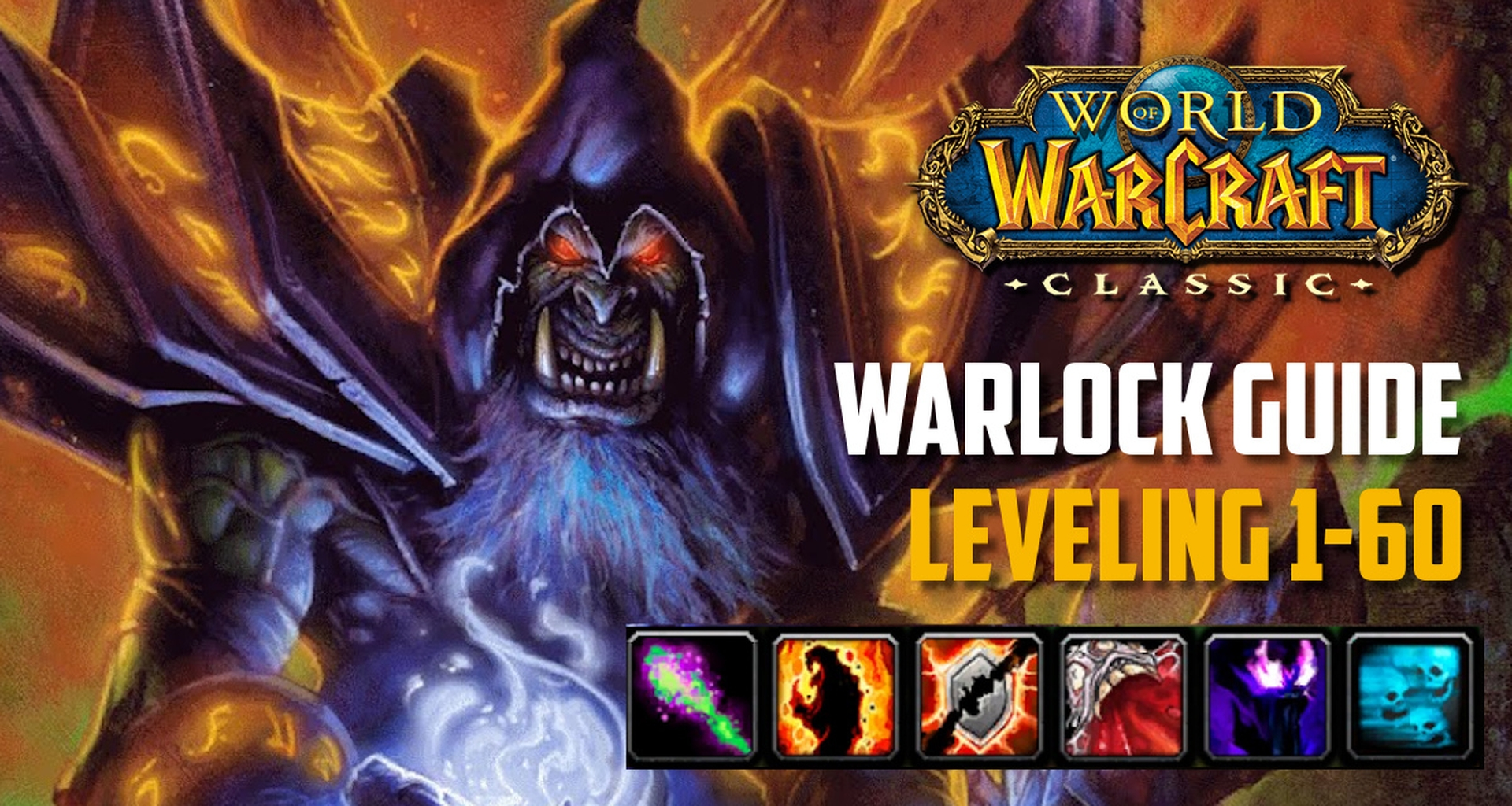 Classic WoW - Warlock Guide Leveling (1-60) - Best Tips