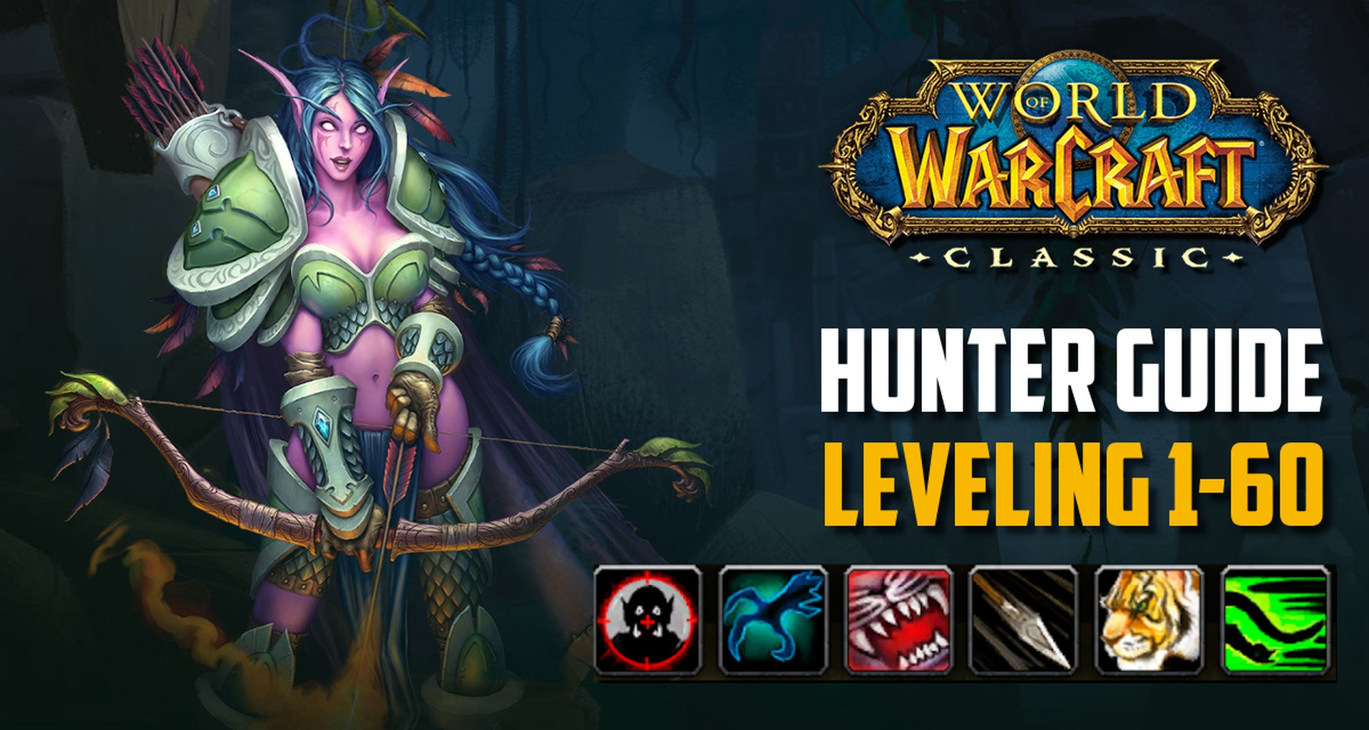 Classic Wow Hunter Guide Leveling 1 60 Best Tips