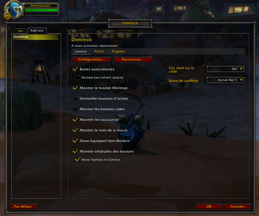 Dominos - Addon for Classic WoW - 1 13 2